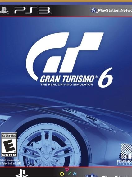Grand Turismo 6 Playstation 3 Mídia Digital