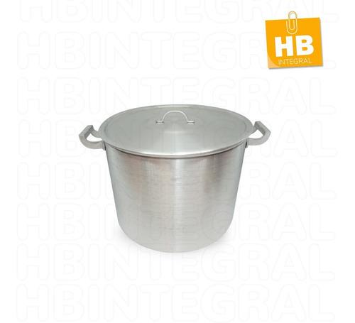 Imagen 1 de 4 de Olla Gastronomica Nº24 De Aluminio Reforzado 10 Litros