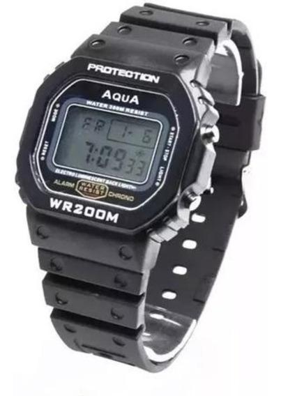 04 Relógio Bolsonaro Presidente Digital Aqua Prov Agua