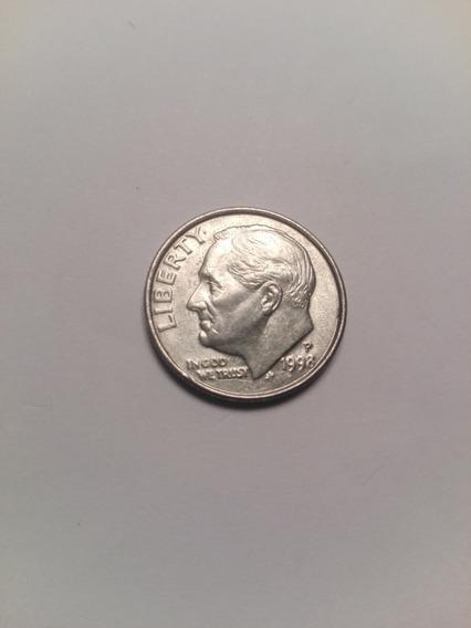 Usa Moneda Dime Año 1998 Letra P