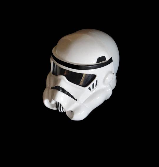 Capacete Stormtrooper - Ouro Fibras