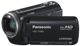 Filmadora Hand Cam Panasonic Hdc-tm80 + Acessorios