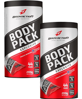 2x Body Pack Explosive 44 Packs - Body Action