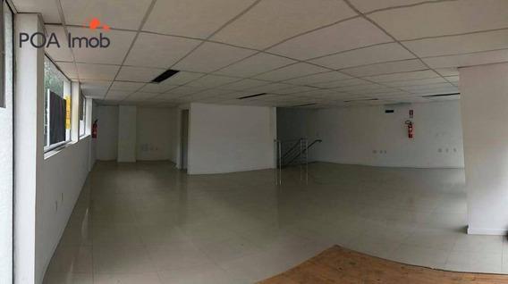Loja Comercial Para Locação, Rio Branco, Porto Alegre. - Lo0003
