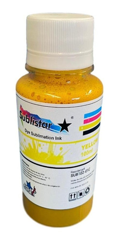 Tinta De Sublimacion Yellow 100 Cc / Chilecostura