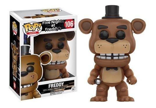 Five Nights At Freddy Boneco Pop Funko Freddy #106 Fnaf