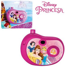Camera Fotografica Infantil Com Imagem Princesas Na Cartela