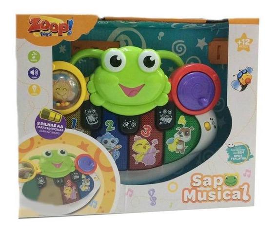 Teclado Sapo Musical - Zoop Toys Zp00660