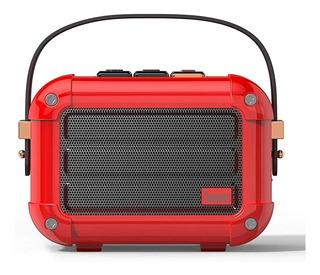 Parlante Divoom Macchiato Rojo Bluetooth