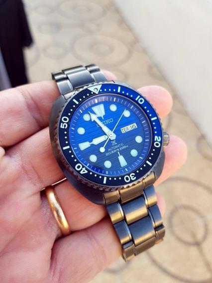 Relógio Seiko Turtle Ocean Savi Somente Caixa Como Nas Fotos