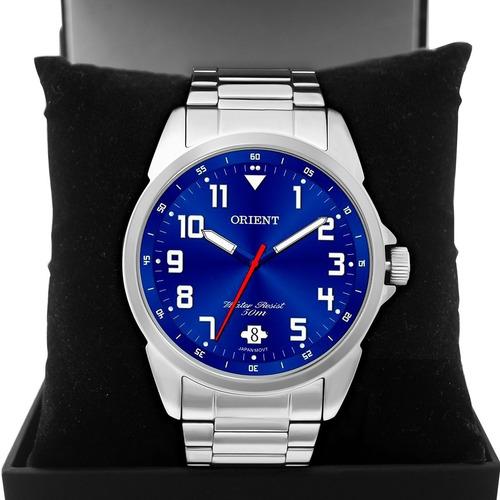 Relógio Masculino Orient Sport Prata Mbss1154ad2sx