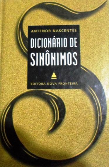 Livro - Dicionário De Sinônimos