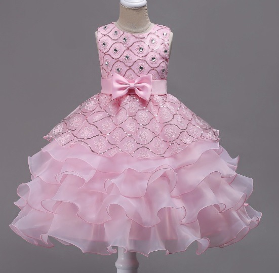 Vestidos Infantis Para Aniversários, Casamentos E Daminhas.