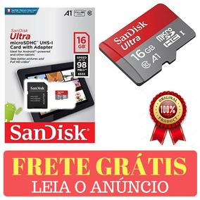 Cartão De Memória 16gb Ultra Micro Sdhc 98mb/s Original