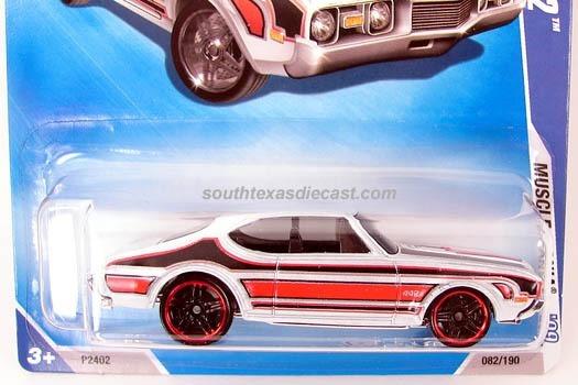 Hot Wheels - Olds 442 - 2009 - #82 De 166 - Muscle Mania