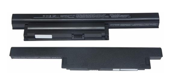 Kit Bateria + Carregador Para Sony Vaio Vpcea43fb Vpcea43fb/b Vpcea43fb/g