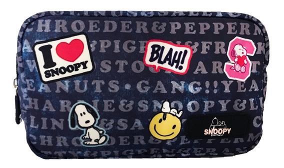Cartuchera Neceser Snoopy Portacosmet Varios Modelos Estampa