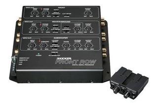 Kicker - Frontrow 6-channel Digital Signal Processor - Negro