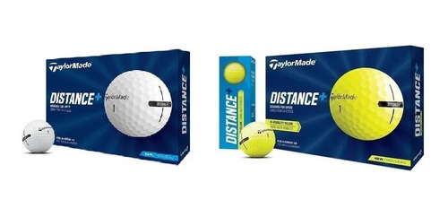 Pelotas Taylormade Distance+ De 12 Unidades Golflab