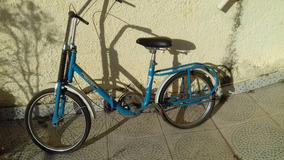 Bicicleta Caloi Berlineta Dobrável Toda Original