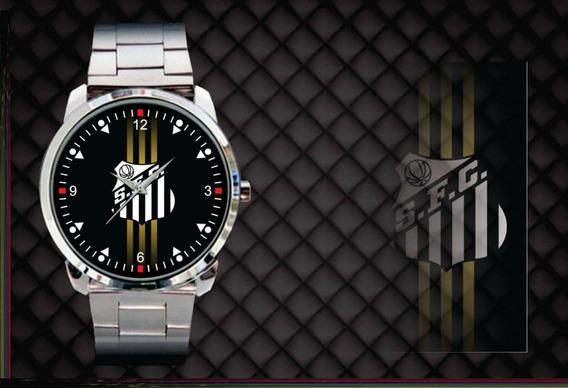 Relógio De Pulso Personalizado Santos Futebol Clube Peixe
