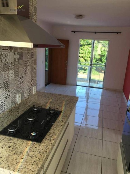 Apartamento Com 2 Dormitórios Para Alugar, 78 M² Por R$ 1.500/mês - Jardim Planalto Verde - Mogi Guaçu/sp - Ap0167