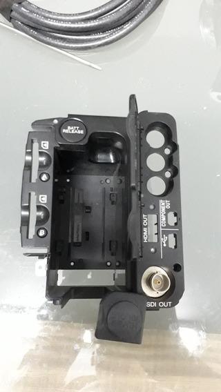 Filmadora Sony Nx5 Peças Encaixe Bateria Tampa Traseira Sdi