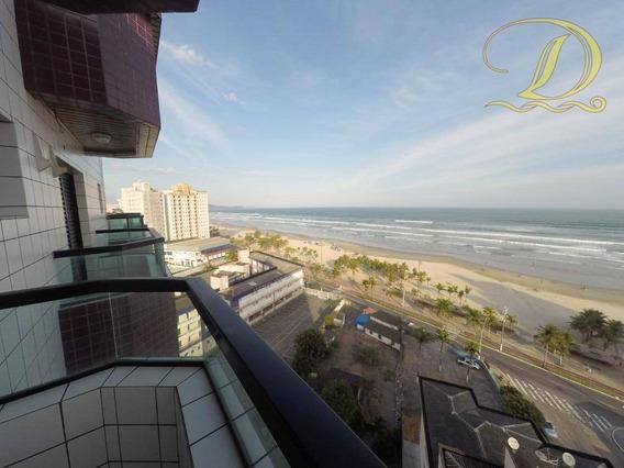 Cobertura Com Vista Do Mar À Venda Em Praia Grande!!! - Co0021
