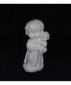 Kit 20 Imagens Babys 15cm Gesso Cru - Escolher Na Descrição