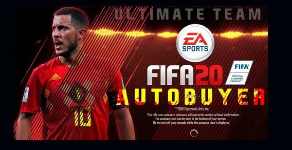 Autobuyer Fifa 20 Ultimate Team - Monte Seu Dream Team