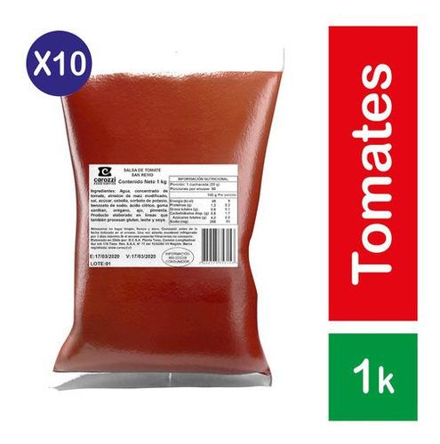 Pack 10 - San Remo Salsa De Tomate Italiana 1kg