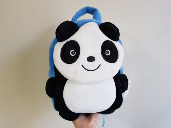 Mochila Panda Para Jardín De Niños