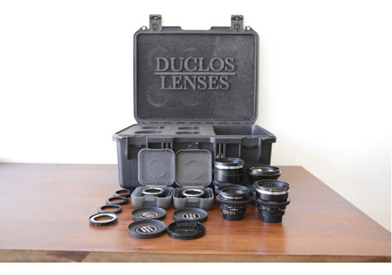 Kit Lentes Zeiss Cinemod Zf.2 21mm 35mm 50mm 85mm F/1.4