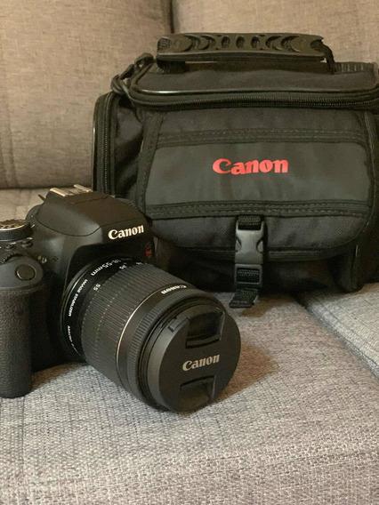 Vendo Câmera Cânon T6i Novinha!!