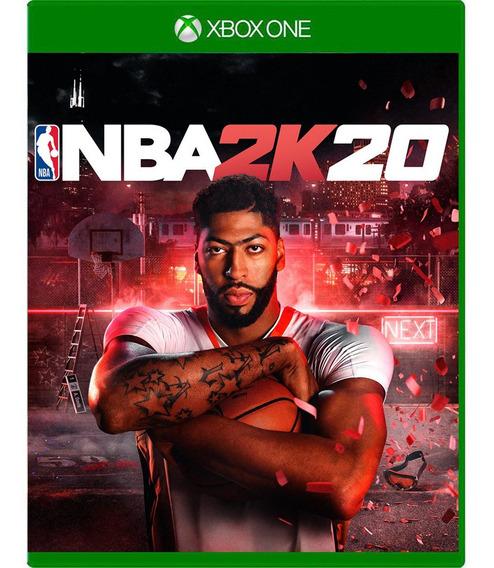 Nba 2k20 Xbox One Mídia Física Pronta Entrega
