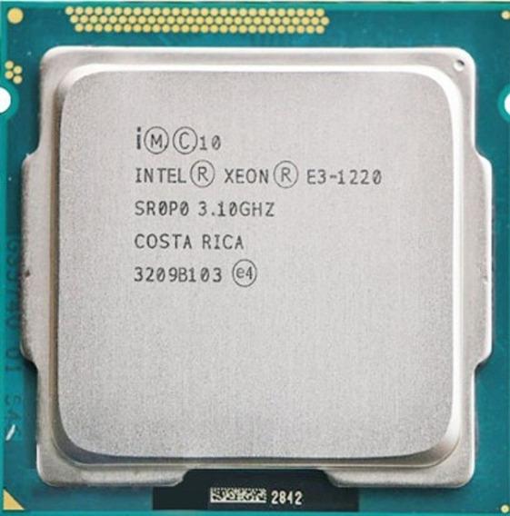 Proc Intel Xeon E3-1220 V2 3.10ghz 8m Cache Sr0ph Lga 1155