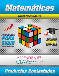 Aprendizajes Clave (matemáticas) - !secundaria!