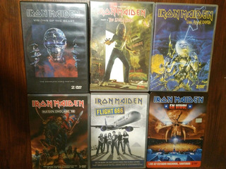 Iron Maiden - Lote Dvd