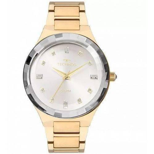 Relógio Technos  Elegance Crystal Swarovski  2036mjk/4k