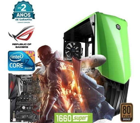 Computador Pc Gamer I7 7700 16gb Ssd 256 1660 Super 6gb