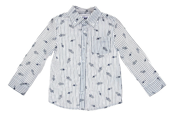 Camisas Bebé Niño Rayas Estampada Epk