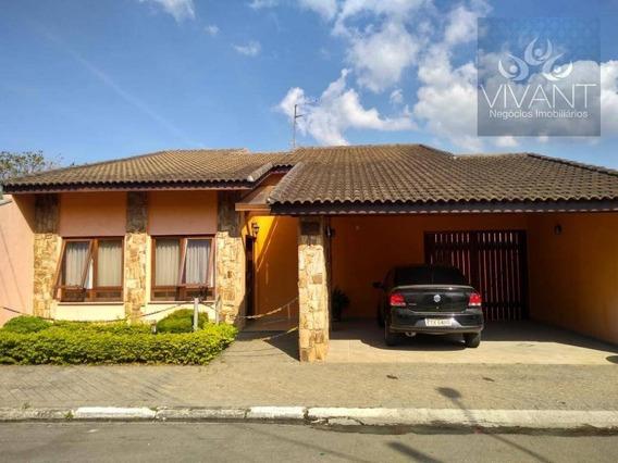 Casa Residencial À Venda, Jardim Altos De Suzano, Suzano. - Ca0121