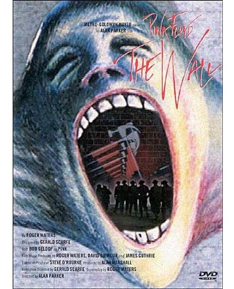 Dvd Pink Floyd The Wall - Novo Original Lacrado