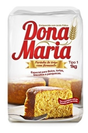 Harina De Trigo Doña Maria Bulto De 10 Und