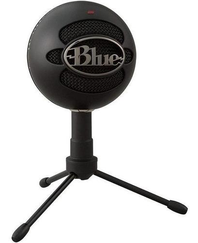 Microfono Logitech Blue Snowball Negro Usb