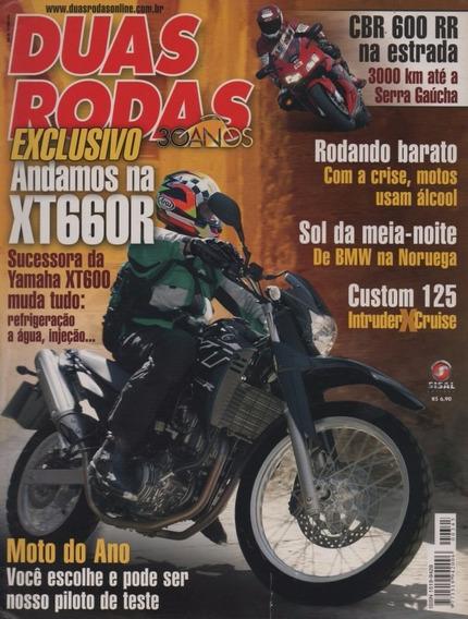 Duas Rodas N°345 Yamaha Xt 660r Honda Cbr 600 Rr Intruder