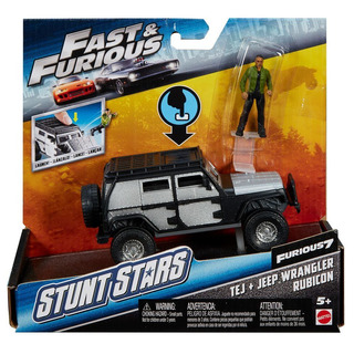 Hot Wheels Fast & Furious 1:32 - Tej + Jeep Wrangler Rubicon