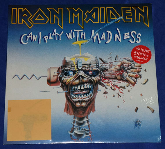Iron Maiden - Can I Play With Madness - 7 Single - Uk Novo
