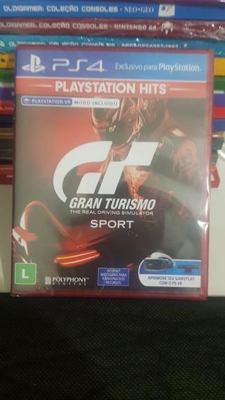 Jogo Gran Turismo Ps4 Midia Fisica