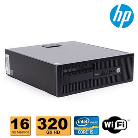 Cpu Hp Prodesk 600 Slim Core I5 4ªg 16gb Ddr3 Hd 320gb Wifi